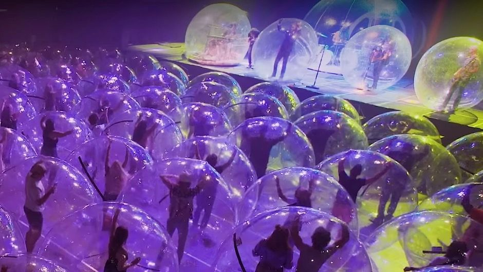 Space Bubble Concert