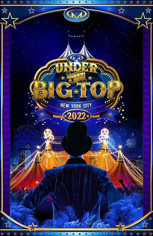 Under the Big Top New Year's NYC